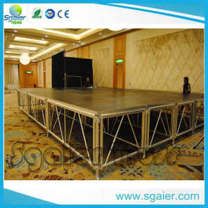 Folding Stage Steps Modular DIY Runway Stage Mini Indoor Stage pictures & photos