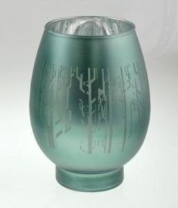 New Design Glass Candle Holder for Christmas pictures & photos