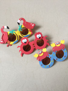 EVA Cartoon Animal Sunglasses for Children pictures & photos