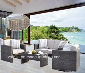 Garden Rattan Wicker Sectional Outdoor Sofa Set pictures & photos