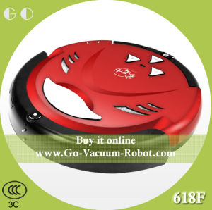 Household Cordless Robot Vacuum Cleaner Wet and Dry, Red, Low Noise, Auoto Charge, Anti-Collision Cleaning Aspirator for Home pictures & photos