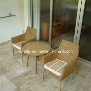 Cushioned Seat Wicker Patio Rattan Garden Outdoor Furniture pictures & photos