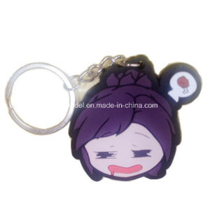 PVC Keychain with Ring for Decoration (OEM) pictures & photos