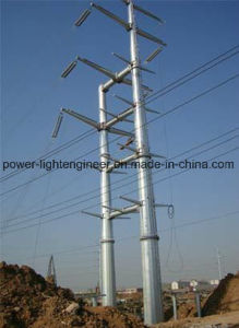 Steel Electric Power Transmission Pole