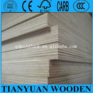 Full Popar Core Commercial Plywood Birch Plywood for Furniture, Decoration, Packing pictures & photos