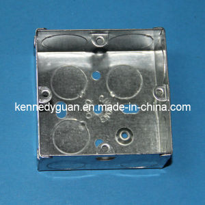 3X3 One Gang Galvanized Steel Junction Box pictures & photos