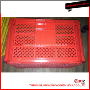 Plastic Injected Medium/Fruit and Vegetable Crate Molding pictures & photos