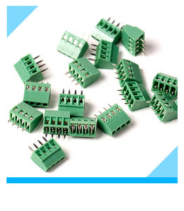 2.54mm Pitch Screw PCB Terminal Block pictures & photos
