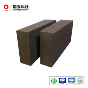 Semi Rebonded Magnesia Chromite Brick for Bof