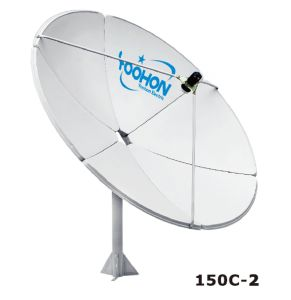 150cm C Band Satellite TV Antenna (150C-2) pictures & photos