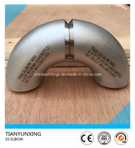 90deg Wp321/1.4541 Butt Weld Seamless Stainless Steel Pipe Elbow pictures & photos