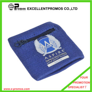 Cotton Wristbands Sweatbands with Zipper Pocket (EP-AB526) pictures & photos