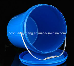 Food Grade Blue Plastic Container Bucket