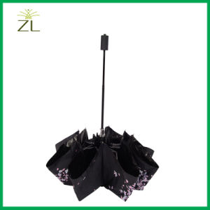 Profession Manufacturer UV Resistant High Quality Folded Lady Umbrella pictures & photos