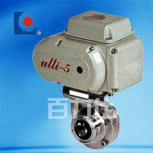 Stainless Steel Sanitary Electric Butterfly Valve pictures & photos