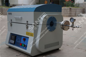 1200c Laboratory Split Style Tube Furnace with Quartz Tube pictures & photos
