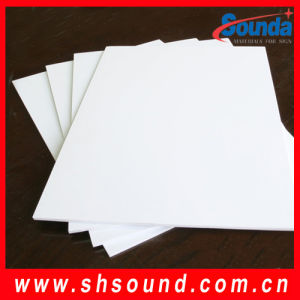 White PVC Foam Board (SD-PFF09) pictures & photos