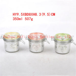 400ml Glass Storage Jar Food Glass Jar pictures & photos