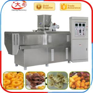 Puffed Extruded Corn Snack Food Making Machine pictures & photos