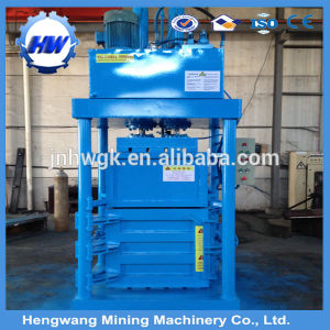 Waste Plastic Hydraulic Vertical Waste Paper Baler pictures & photos