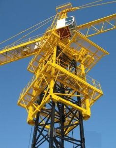 New Model 10ton Topless Tower Crane pictures & photos