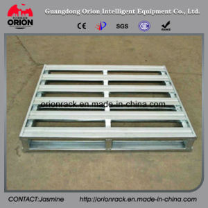 Silvery White Recyclable Stainless Steel Pallets with High Polish Finish pictures & photos