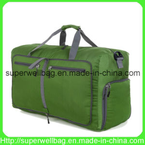 China Manufacture 80L Foldable Travel Duffle Bags Water Tear Resistant Bag