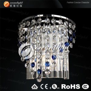 Modern Hotel Blue Crystal Wall Lighting, Decorative Wall Lamp Light, Wall Light Om88050-1 pictures & photos