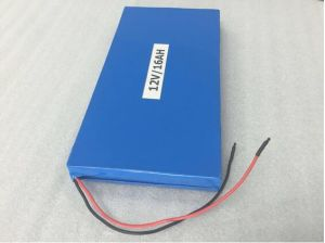 Li-ion Battery for Solar Street Light Aluminum Case 12V 16ah Lithium Battery pictures & photos