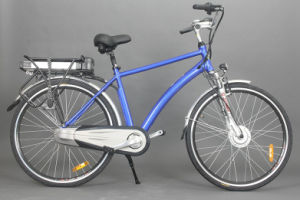 2015 New Model Back Battery Hot Sale Cheap City E Bike pictures & photos