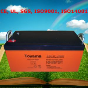 Deep Cycle Battery 24V AGM Deep Cycle Battery pictures & photos