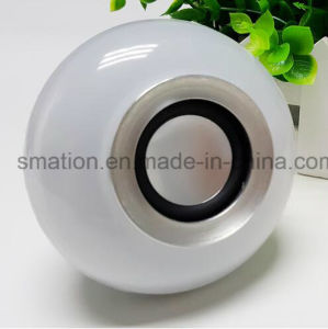 Smart Bluetooth Music Speakers E27 LED Bluetooth RGB Bulb Light pictures & photos