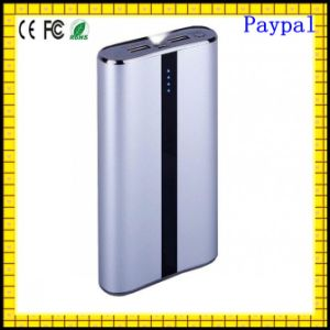 Customized Logo Polymer Battery 2015 Slim Metal Power Bank (GC-PB337) pictures & photos