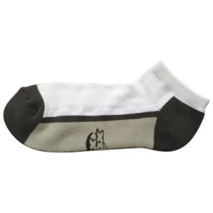 Men Women Terry Cotton Color Sports Socks (tcc-02) pictures & photos