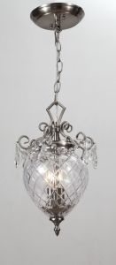 European Classical Minimalist Glass Chandelier Pendant (BK-MD331-2) pictures & photos