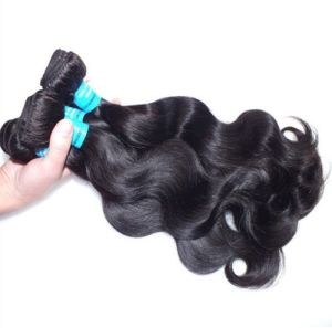 Natural Color Virgin Brazilian Human Hair Weave with Cutile pictures & photos