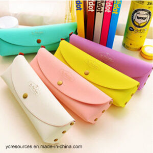 Candy Color PU Stationery Bags --Pen Bags pictures & photos