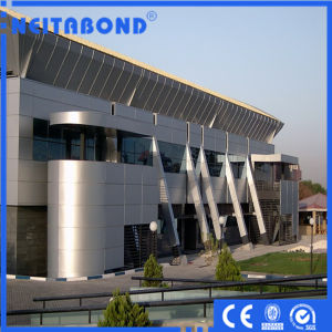 High Quality Neitabond Aluminum Composite Panel ACP Used in Philipine Project pictures & photos