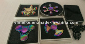 New Design Kids Adult Toy Aluminum Alloy EDC Fidget Spinner pictures & photos