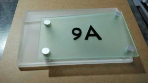 Custom PMMA Acrylic Sign pictures & photos