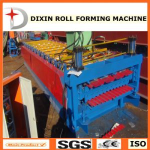 Dx840/825 Double Layer Roof Sheet Making Machine pictures & photos