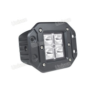 "Waterproof 4"" 12V 12W CREE LED Car Work Light pictures & photos"