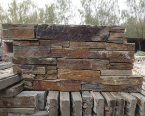 Natural Culture Slate Stone for Exterior Wall Decoration (DXSC62)