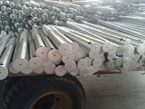 Hot DIP Galvanized Solar Mounting Ground Screws pictures & photos
