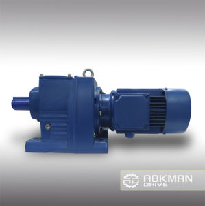 High Efficency R Series Helical Gearbox pictures & photos