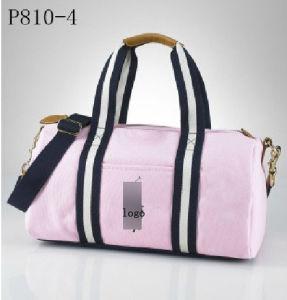 Fashion Ladies Shoulder Shopping Cotton Canvas Leather Designer Handbags