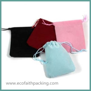 Small Velvet Jewelry Bag Velvet Jewelry Pouch Bag