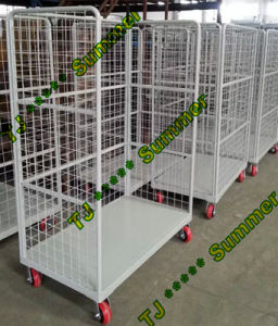 4 Sides Security Metal Wire Mesh Roll Container 800*600*1700 pictures & photos