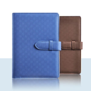 Bound Notebook / Office Notebook / PU Leather Journal Notebook pictures & photos