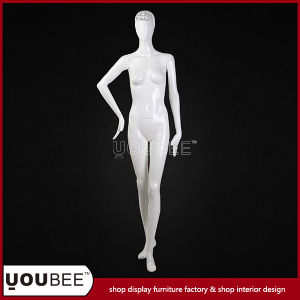Elegant High Quality Standing Female Fiberglass Mannequins From Professional Factory pictures & photos